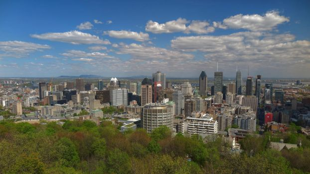 Montreal Skyline by Wedge009
