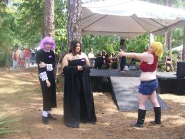 Soul Eater, Crona,Arachne, and Patty Cosplay by CronaBaby