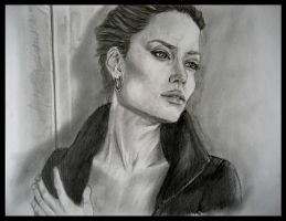 Angelina Jolie by JenniferTheFirst