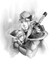 Link's father by Kim-SukLey