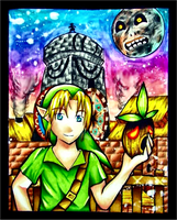 Majora's Mask by Zeldagal