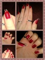 Nail Piercing by howcouldyoudothat
