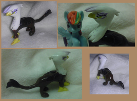 Gilda blind bag custom - sculptre by Busoni