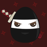 Eggy cute - Bushido egg by Tribrush