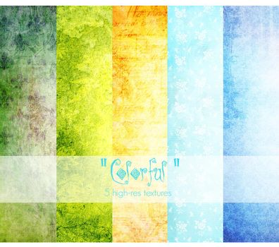'Colorful' texture pack by AF-studios