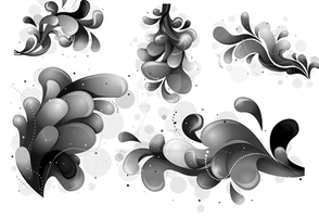 Abstract Brushes by cherryproductionsorg