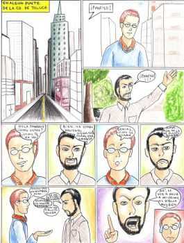 A funny and ugly comic part on by TurKobain