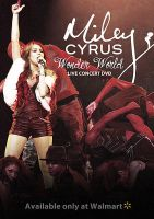 Miley Cyrus Concert DVD Cover by mikeygraphics