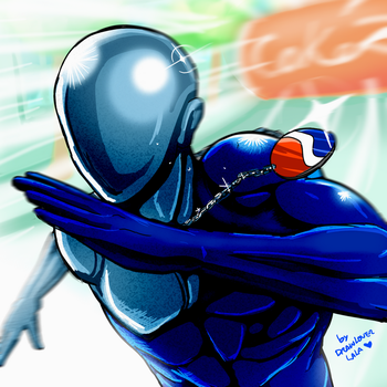 Pepsiman!! by Drawloverlala