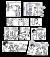 The Visitor PART 1 by MarsigComic
