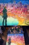 Arrow Over Orlando by ChalkTwins