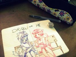 Draw with me by kawamatil
