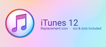 iTunes 12 Replacement Icon by Kar-ma