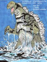 Godzilla7-2013 -AVAILABLE by Bright-Raven
