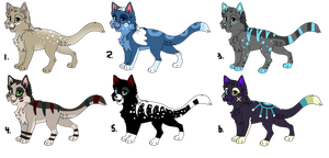 Kitten Adopts (OPEN) by Neon-Spots-Adopts