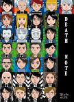 Death note all characters by violinfutbol