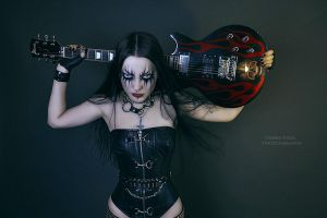 black metal barbie3 by Ego93