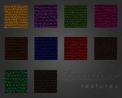 Leather Textures by pinkcamellia