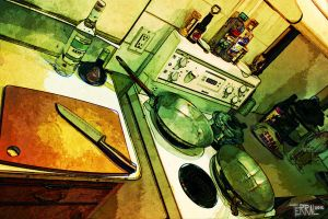 My Kitchen by terral