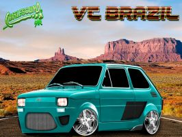 Fiat 126 Vt by CHARLESOUNDcar
