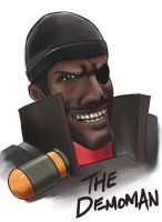 Team Fortress 2: The Demoman by Onosaka-Yuha