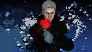 DmC - Vergil Wallpaper by MakiRepent