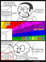 Rainbows may contain radiation by KingMonster