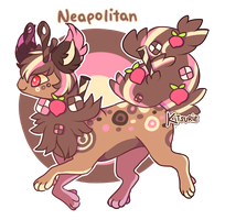 [Auction] Neapolitan | OPEN ! by Kitsurie