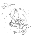 BBRRRRRR Sonic! by Shadow0Kat0