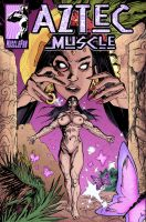 Aztec Muscle - Sexual Power by female-muscle-comics