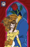 Beauty and Beast Color by TheBloodAgent
