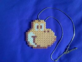 Commission: Yoshi Cookie Necklace by Miss-Informed