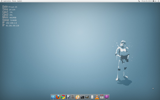 Linux Desktop by billgoldbergmania