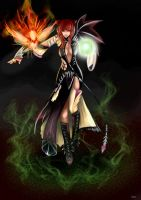 Dark Venomancer - PerfectWorld by Sueta