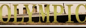 RMS Olympic - Name-Art by RMS-OLYMPIC