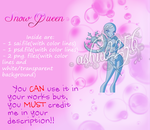 'Snow Queen' Free Base Pack by ashia2256