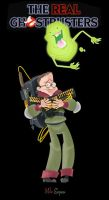 Louis Tully and Slimer by tunasammiches
