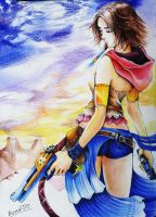 Yuna (Final Fantasy X-2) casi by Romel-t2