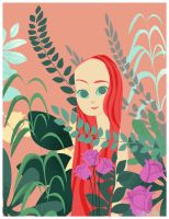 Eve in the Garden by victoria-ying