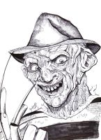 Free Sketch 2009: Freddy by NickMockoviak