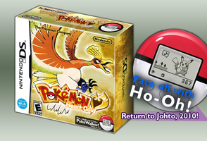 Pokemon HeartGold:English box by princeofpixels