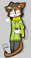 It's Cold Out... by Mister-Saturn