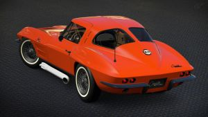 1963 Chevrolet Corvette Sting Ray C2 (GT6) by Vertualissimo