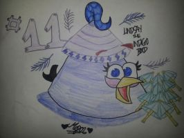 15 Days of Angry Birds New Year: Day 11 by MeganLovesAngryBirds
