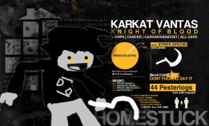 Karkat: Captchalogue- friendly by SystemicHysteria