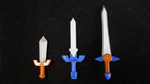 LEGO 3D Printed Ocarina of Time Swords by mingles