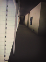 Turned Hallway by lycheese