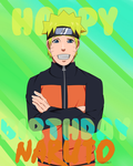 Happy Birthday Naruto by LizzieBCT