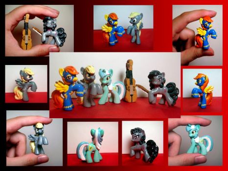 Custom Blind Bag Ponies by RaccoonRat