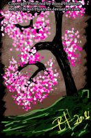 Cherry Blossom 2014-06-25 by Blood-Huntress